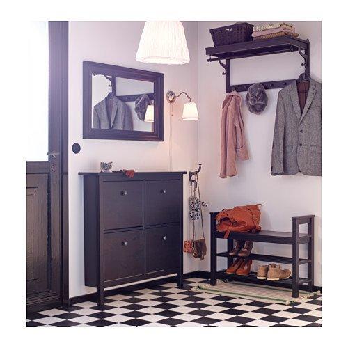 Ikea HEMNES - Banco con Zapatero, marrón - 85 x 32 cm ...