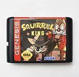 Taka Co 16 Bit Sega MD Game KING OF SQUIRREL - Rampage Edition - 16 bit MD Games Cartridge For MegaDrive Genesis console