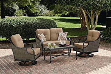 La Z Boy Outdoor Charlotte 4 Piece Seating Set Part 7