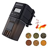 Fish Feeder, Automatic Fish Feeder, MONOLED Auto Aquarium Food Dispenser Timer for Fish Tank (Batteries Included) (MN206)