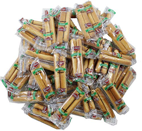 Keebler Onion Flavor Breadstick Crackers, Individual 2 Count Packet, 50 Total ()