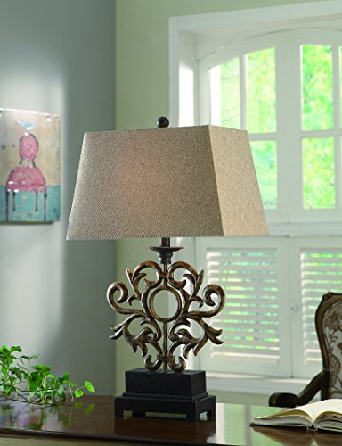 Belle Iron Large Buffet Lamp (Contemporary Buffet Lamps)