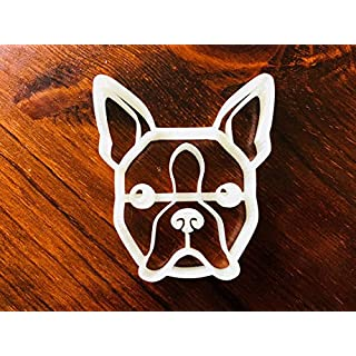 Cloe the Boston Terrier Cookie Cutter Face