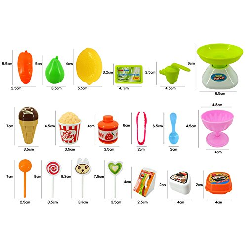 Ramakada Supermarket Shop Play Set Toy with Sound Effects, Multi Color
