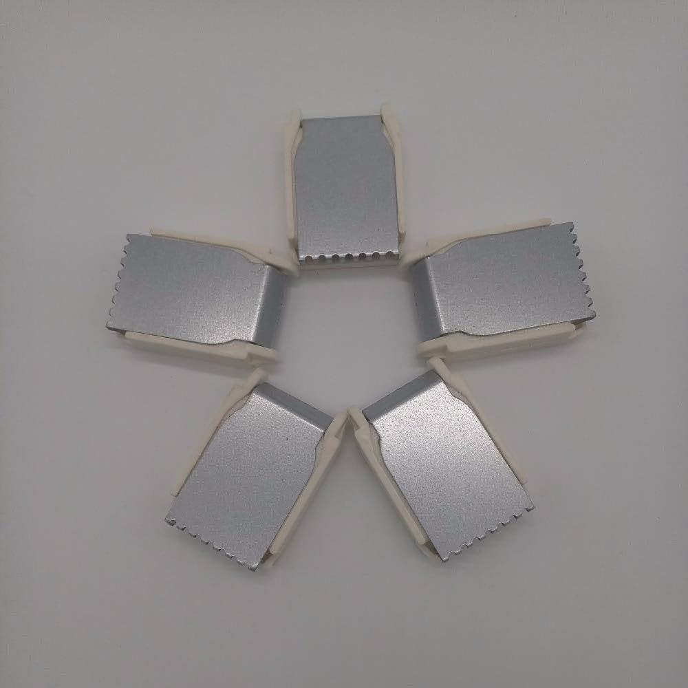 5 pinzas de acero para máquina de tejer de Brother Silver Singer ...