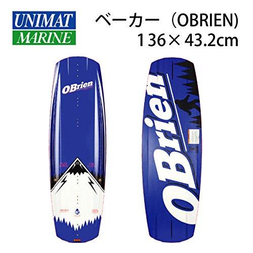 OBRIEN(オブライエン) ウェイクボード BAKER べーカー 136×43.2cm 商品番号:37253   B076DS4C3G