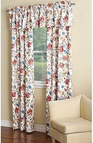 Ellis Curtain Cornwall Jacobean Floral Thermal Insulated Tailored Valance