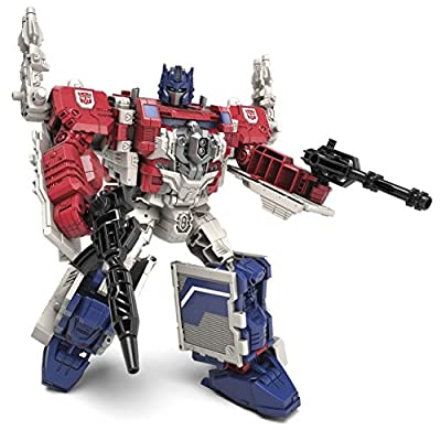 Transformers Generations Leader Powermaster Optimus Prime Action Figure