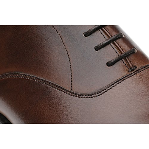 Herring  Herring Mayfair (Rubber), Chaussures de ville à lacets pour homme marron Mahogany Calf - marron - Mahogany Calf,