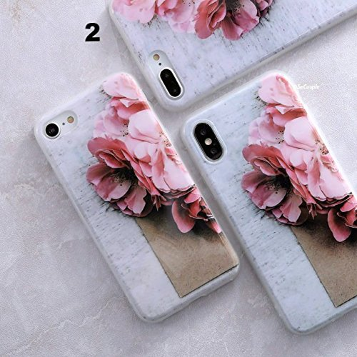VT BigHome for i Phone X Granite Scrub Marble Stone Image Painted Silicone Phone Case for i Phone x case by VT BigHome (Image #1)
