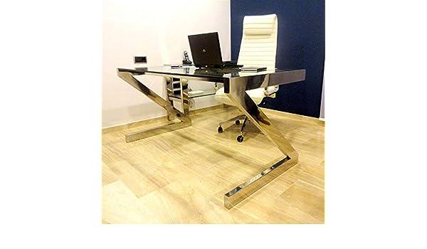 Mesa de despacho Moderno | diseño | Hierro Lacado INOX ...