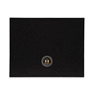 Sycho Sound New Single Car Truck Wedge Black Subwoofer Box Sealed Enclosure for 12-Inch Woofer 12F