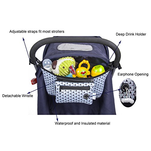 Baby Stroller With Detachable Carrier - 9