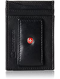 Mens Wallet Leather Money Clip Thin Slim Front Pocket Wallet