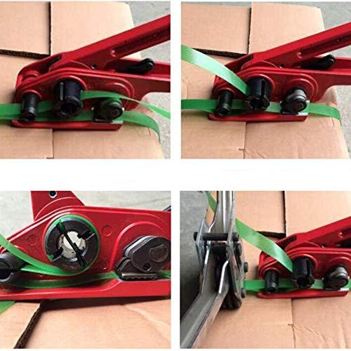 SODIAL Tensor De Correa De Pl/ástico M/áquina De Flejado De Pl/ástico Para Mascotas Embaladora Tensor Manual Paquete Plastico Herramientas Manuales Herramientas De Mano