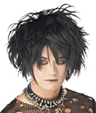 California Costumes Men's Midnight Fiend Wig, Black, One Size