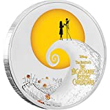 #7: 2017 NU THE NIGHTMARE BEFORE CHRISTMAS-DISNEY 1 oz Silver Coin Proof Coin Halloween Gift $2 Perfect Uncirculated