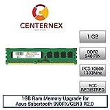 1GB RAM Memory for Asus Sabertooth 990FX/GEN3 R2.0 (DDR310600 ECC) Motherboard Memory Upgrade by US Seller