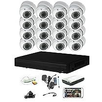 iPower Security SCCVIC16D1080-2T 16 Channel 2TB HDD HD-CVI HDCVI 1080P DVR Security Surveillance System
