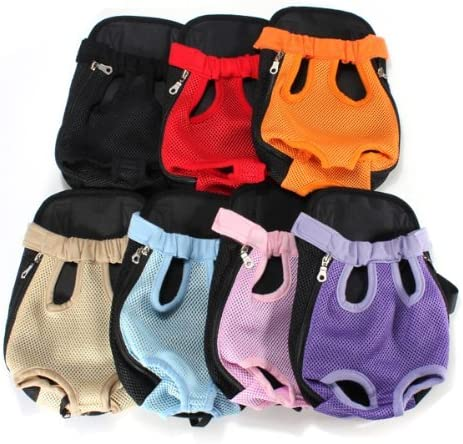 Multi-Color Choice Travel Cat Pet Puppy Dog Nylon Net Front Carrier Backpack Bag Case Medium Size