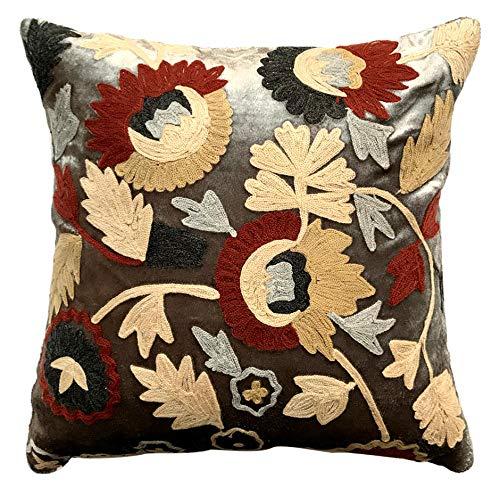 The HomeCentric Decorative Velvet Throw Pillow Cover, 22