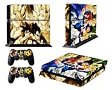 Dragon Ball Skin Sticker for PS4 System Playstation 4 Console with 2 Controller Skins For Sale