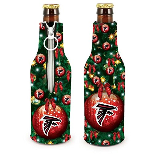 NFL Football 2015 Christmas Ugly Party Bottle Suit Holder Cooler 2-Pack (Atlanta Falcons)