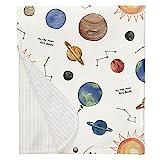 Carousel Designs Solar System Mini Crib Blanket