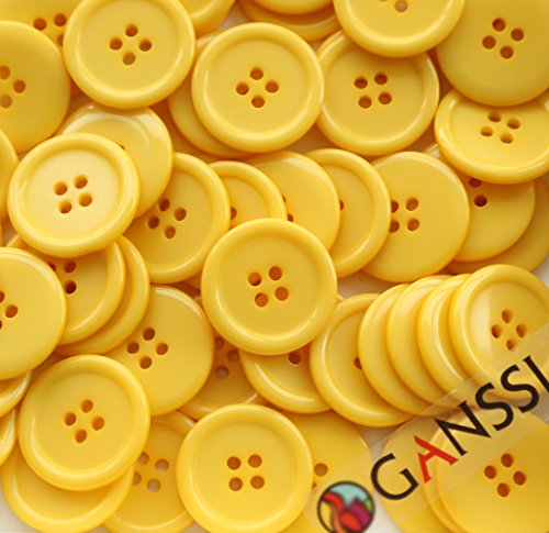 GANSSIA Sewing Flatback Buttons Colored product image
