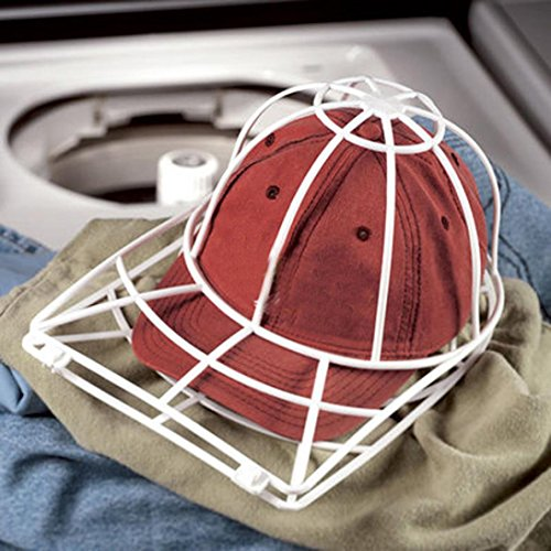Ballcap Washer Buddy,Cap Washer Baseball Hat Cleaner Cleaning Protector Ball Cap Washing Frame Cage By Hongxin,35 X 25 X 15cm ()
