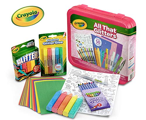 Crayola All That Glitters, Art Set, Over