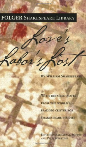 Love's Labor's Lost (Folger Shakespeare Library)