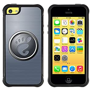 ZFresh Rugged Protective Case Cover Foot - Apple Iphone 5C