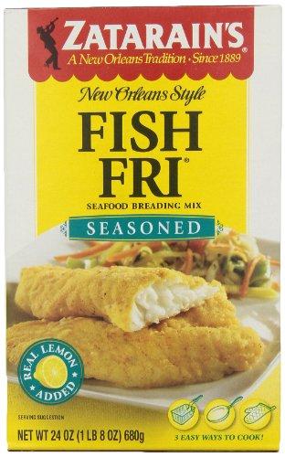 ZATARAIN'S Seasoned Fish Fri, 24-Ounce (Pack of 6) by Zatarain's