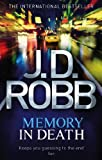 Memory in Death by J.D. Robb front cover