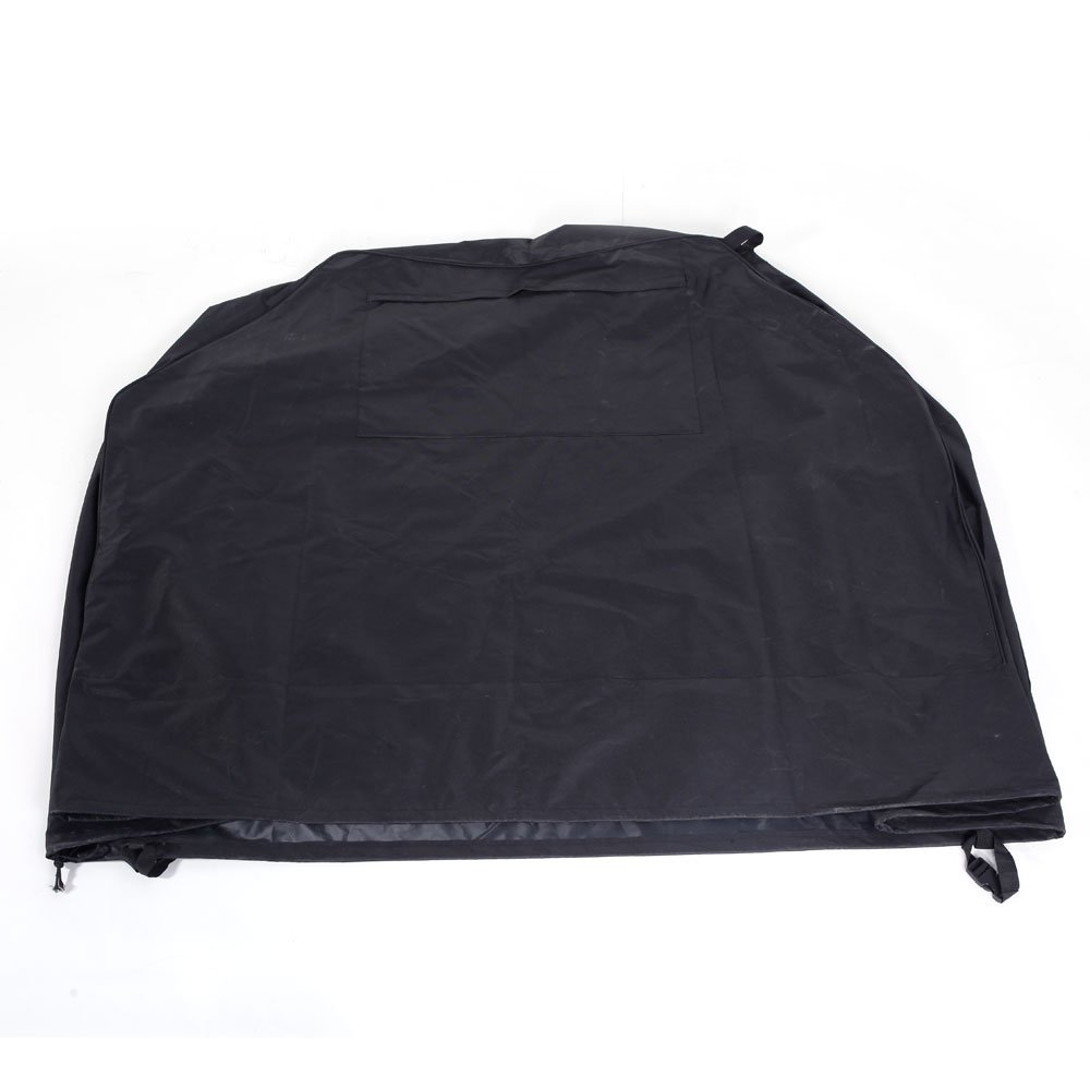 Leadzm Outdoor Grill Cover,Waterproof, Dust-proof,Patio Garden Barbecue Protector, Weather Resistant,Fits Most Brands of Grill,Black,Dimensions: 58'' x 24'' x 48'' (L x W x H).
