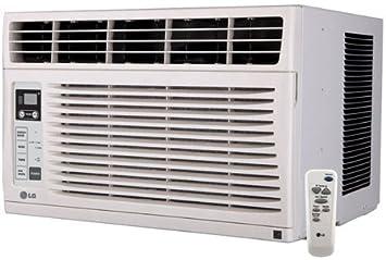 Amazon.com: 6.000 BTU Aire acondicionado 115 Voltios ventana ...
