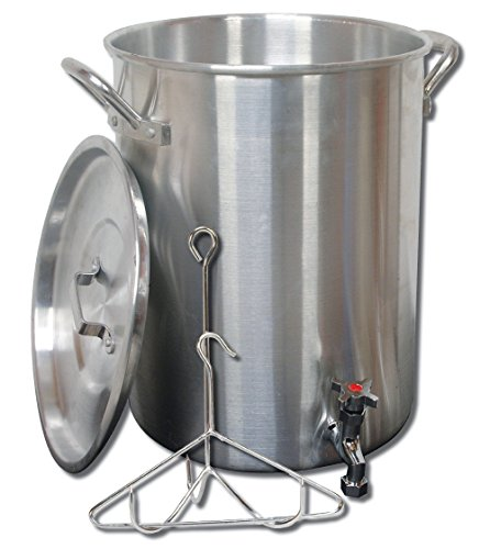King Pot Kooker - King Kooker 30PKSP 30-Quart Aluminum Stock Pot