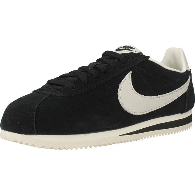 Nike - Sportswearclassic Cortez se - Zapatillas - Black/Sail ...