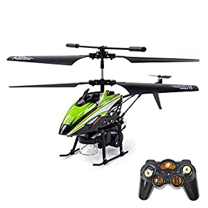 Gizmovine Wltoys V757 Bubble RC Helicopter 3.5CH with Gyro