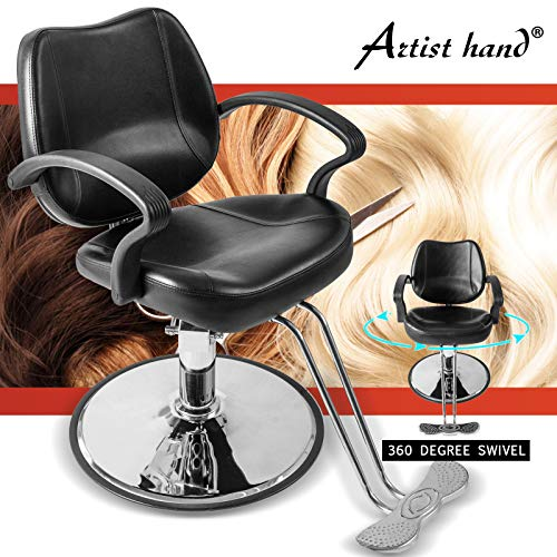 Artist Hand Barber Chair Hydraulic Barber Chair Salon Chair Tattoo Chair Salon Equipment for Hair Stylist
