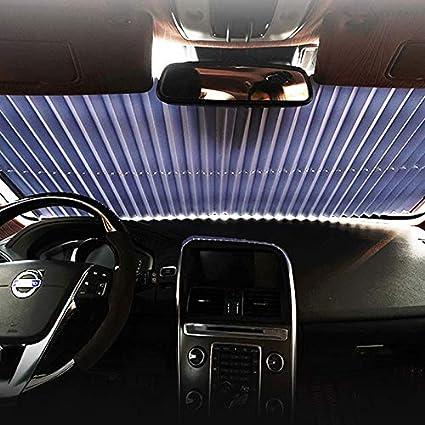 Kentop Car Sun Visor Automatic Retractable Sun Shade for Car Curtain and Windscreen with Suction Cups