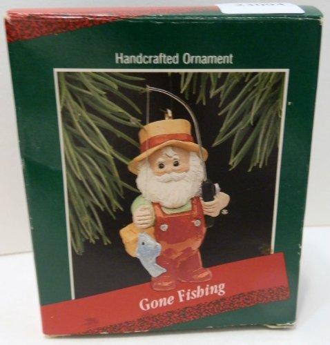 - 1988 Hallmark GONE FISHING Ornament