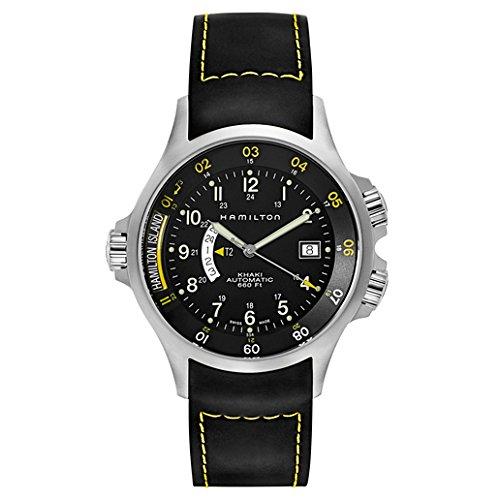 Hamilton Khaki Navy GMT Men's Automatic Watch (Hamilton Gmt Watch)