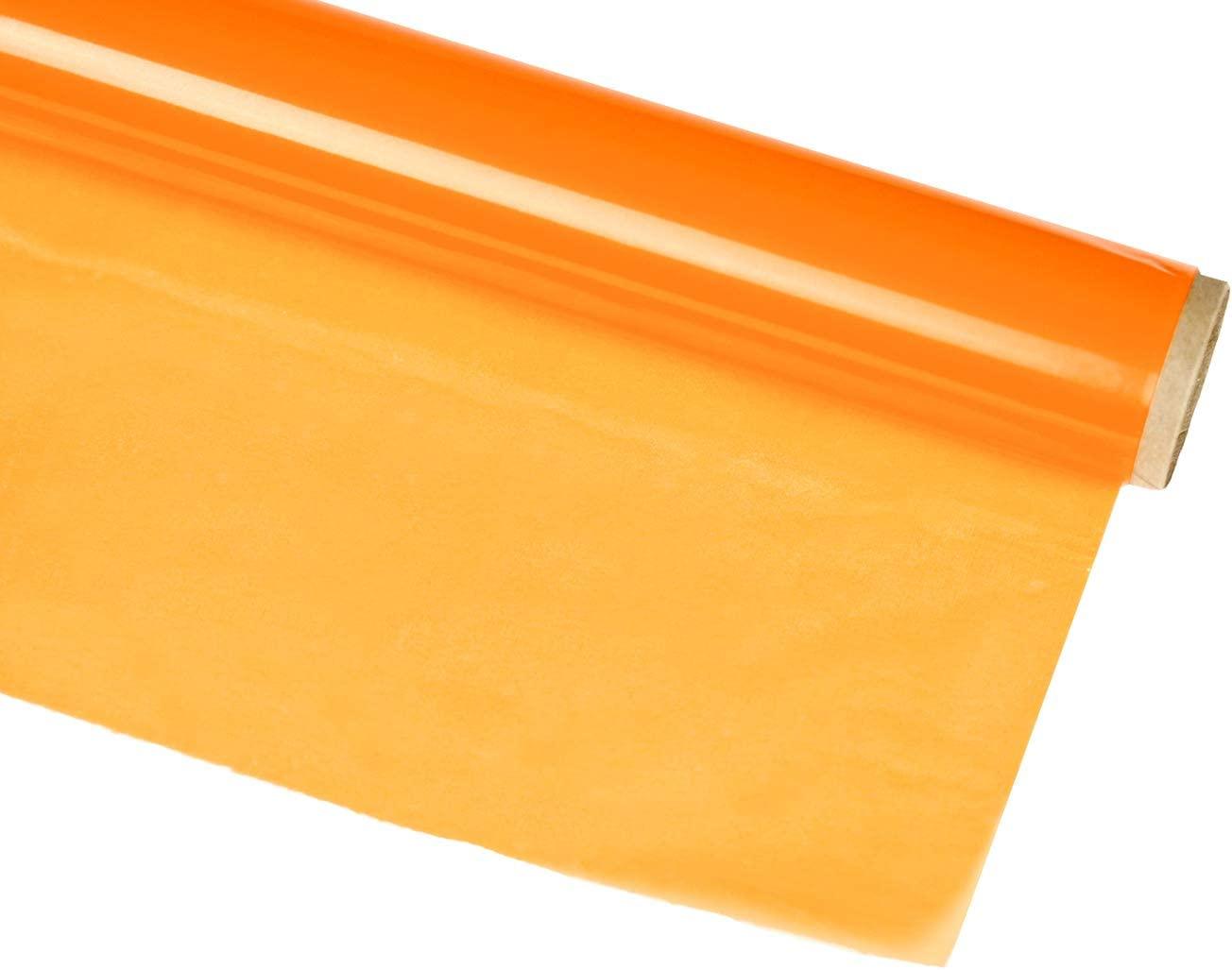 Hygloss Products Cellophane Roll – Cellophane Wrap for Crafts, Gifts, and Baskets 20 Inch x 5 Feet, Orange: Home & Kitchen