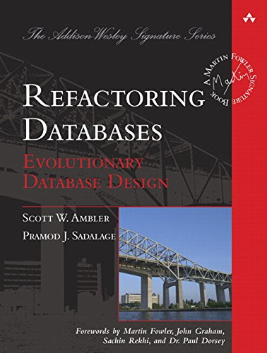Refactoring Databases Pdf