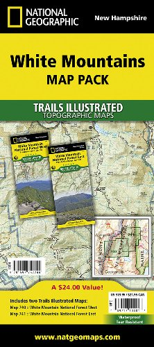 White Mountain National Forest [Map Pack Bundle] (National Geographic Trails Illustrated - Outlet Mountain White