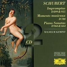 Schubert: Piano Sonatas D.960 & 664, Moments Musicaux D.780, Impromptus D.899
