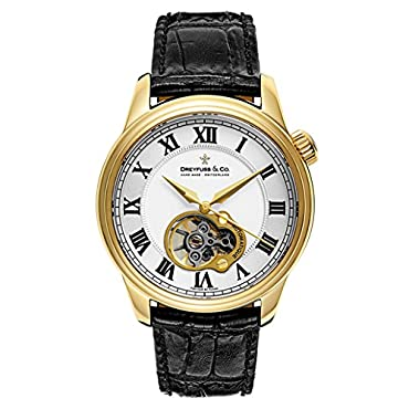 DREYFUSS 1925 Open Heart Men's Automatic Watch DGS00092-01