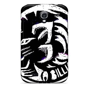Bumper Cell-phone Hard Cover For Samsung Galaxy S4 (Wlw16520IkMa) Custom Stylish Foo Fighters Pattern